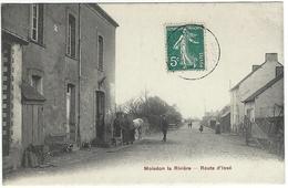 Moisdon La Rivière - Route D'Issé (Maréchal-ferrant) - Moisdon La Riviere