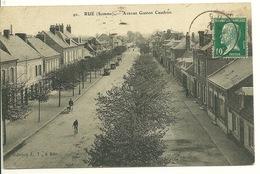 80 - RUE / AVENUE GASTON CAUDRON - Rue