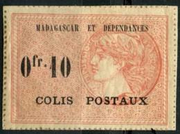 Madagascar (1919) Colis Postaux N 3 * (charniere) - Madagascar (1889-1960)