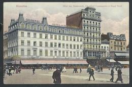 +++ CPA - BRUSSEL - BRUXELLES - Hôtels Des Boulevards , Cosmopolite Et Royal Nord  // - Cafés, Hotels, Restaurants