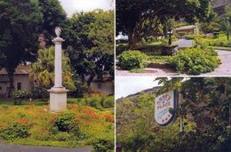 1 AK St. Helena * Castle Gardens In Jamsetown * - Saint Helena Island