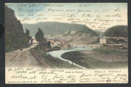 +++ CPA - LAROCHE - Route De Vielsalm - Nels Série 26 N° 227 - Couleur 1904   // - La-Roche-en-Ardenne