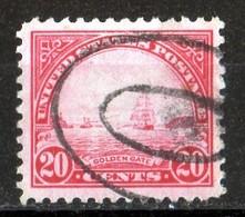 13:20  USA 1931 Golden Gate 20 Cts Red - Etats-Unis