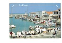 Cpm - 17 - ILE DE RE - LA FLOTTE - Bateau Vélo Bicyclette - La Palmeraie  Office Du Tourisme - R 73 Port - Ile De Ré