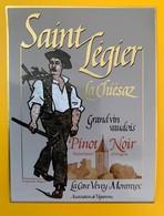 10650  - Pinot Noir Saint Légier La Chiésaz Suisse - Etiquettes