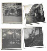 4 Snapshot Photographs, Malaysia, Sungai Petani, Street Scene, Cinema, Chinese Boy. - Malaysia