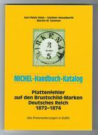 MICHEL-Handbuch-Katalog Plattenfehler Auf Den Brustschild-Marken Deutsches Reich 1872-1874 - Deutschland