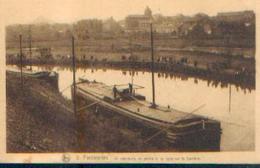 FARCIENNES « Un Concours De Pêche à La Ligne Sur La Sambre » - Nels (1925) - Farciennes