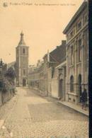FONTAINE L'EVÊQUE « Rue De L'enseignement Et L'église St Vaast » - Nels - Fontaine-l'Evêque
