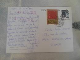 CARTE POSTALE DE CHINE POUR LA FRANCE - 1949 - ... République Populaire