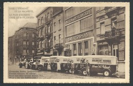 +++ CPA - BRUXELLES - BRUSSEL - Métier - Maison Des Boulangers - Artisan - Boulangerie Patronale - Marchand Ambulant  // - Marchands Ambulants