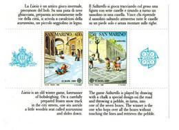 S. MARINO 1989 FOGLIETTO EUROPA UNITA PERFETTO MNH** - Blocchi & Foglietti