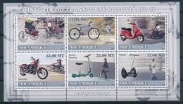 NB - [401333]TB//**/Mnh-Mozambique 2008 - Histoire Des Transports De La Route II, Scooter, Moto - Motorräder