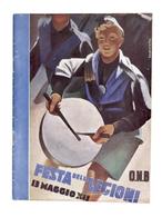 Programma Festa Delle Legioni - Opera Nazionale Balilla - Milano - 1934 - Livres, BD, Revues