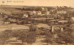 BERZEE « Passerelle Et La Gare » - Nels (1937) - Belgique