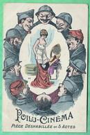 POILU CINEMA - PIECE DESHABILLEE EN 5 ACTES - Guerra 1914-18