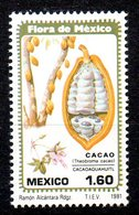 MEXIQUE. N°931 De 1981. Cacao. - Ernährung
