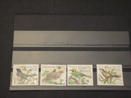 SINGAPORE - 1998 UCCELLI 4  VALORI - NUOVI(++) - Singapore (1959-...)