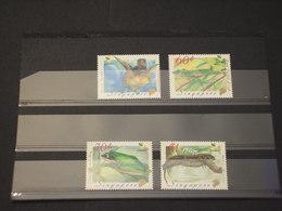 SINGAPORE - 1999 NATURA 4  VALORI - NUOVI(++) - Singapore (1959-...)