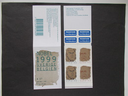 SUEDE    -  CARNETS      N° C 2123    Année 1999   Neuf XX ( Voir Photo )  24 - Carnets