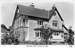 ST. IVES - BELYARS CROFT HOTEL ~ AN OLD REAL PHOTO POSTCARD  #93912 - St.Ives