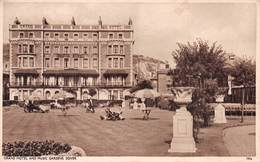 DOVER - GRAND HOTEL & MUSIC GARDENS ~ AN OLD REAL PHOTO POSTCARD  #93913 - Dover