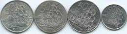 New Zealand - Elizabeth II - 50 Cents - 1967 (KM37) 1986 (KM63) 2003 (KM119) & 2006 (KM119a) - New Zealand