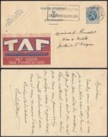 Publibel - 50c Voyagé - Thématique Cigare - Cigarillo (DD) DC3503 - Stamped Stationery