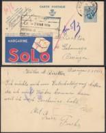 Publibel - 50c Voyagé - Thématique Margarine (DD) DC3505 - Stamped Stationery