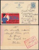Publibel - 50c Voyagé - Thématique Chicorée (DD) DC3517 - Stamped Stationery