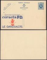 Publibel - 50c - Thématique Corsets (DD) DC3521 - Stamped Stationery