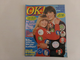 "Revue "" Ok Age Tendre "" N° 113, 1978, Jane Birkin, Dave, Laurent Mallet ... - People"