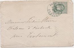 Tienen, Thienen, Tirlemont, Kasteel Oorbeek,enveloppe Voor John Beaufoy Storms, 1882 - Unclassified