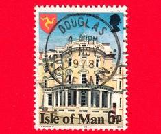 Isola Di MAN - Usato - 1978 - Costruzioni - Government Buildings - 6 - Isola Di Man
