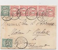 Tienen, Thienen, Tirlemont, Kasteel Oorbeek,enveloppeuit Roermond Nederland Voor John Beaufoy Storms, 1902 - Unclassified