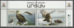 ARTS 2019 EUROPA CEPT ARMENIA - KARABAKH (ARTSAKH), 1 X 2v, MNH - 2019