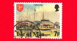 Isola Di MAN - Usato - 1978 - Costruzioni - Tynwald Hill - 7 - Isola Di Man