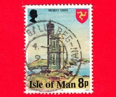 Isola Di MAN - Usato - 1978 - Costruzioni - Milner's Tower - 8 - Isola Di Man