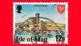 Isola Di MAN - Usato - 1978 - Costruzioni - Tower Of Refuge - 12 - Isola Di Man