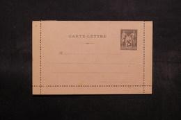 FRANCE - Entier Postal ( Carte Lettre ) Type Sage Non Circulé - L 32578 - Postal Stamped Stationery