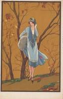 Art Deco ; CORBELLA , Female Fashion Portrait #4 , 1910-20s - Corbella, T.