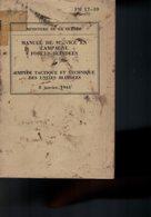 MANUEL MILITAIRE US De 1944 FM 17-10 EMPLOI TACTIQUE, TECHNIQUE UNITÉS BLINDÉES - 1939-45