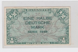 Billet De 1/2 DM Pick 1 1948 - [ 3] 1918-1933 : République De Weimar