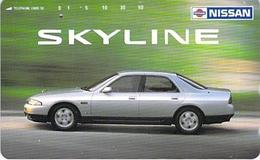 NISSAN -AUTO  - VOITURE - AUTOMOBILE - CAR -- TELECARTE JAPON - Cars