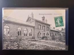 CPA (62) Rimbert Lez Auchel. Ecoles Des Filles.  Imp.Leleu Baron    (G Bis 407) - France