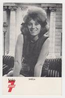PO44 - Carte Télé 7 Jours - SHEILA - Chanteurs & Musiciens