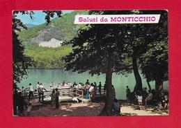 CARTOLINA VG ITALIA - Saluti Da MONTICCHIO (PZ) - Vedutine Multivue - Rionero In Vulture - 10 X 15 - ANN. 1972 - Saluti Da.../ Gruss Aus...