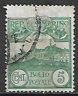 SAN  MARINO    -    1903 .   Y&T N° 35 Oblitéré - Saint-Marin