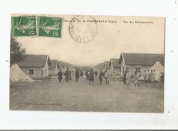 CHAMP DE TIR DE CHAMBARRAN (ISERE) VUE DES BARRAQUEMENTS (MILITAIRES) 1912 - Sonstige Gemeinden