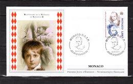 """"""" 200 ANS DE LA NAISSANCE DE NAPOLEON II """" Sur Enveloppe 1er Jour De MONACO De 2011. N° YT 2771. Parfait état. FDC - Napoleon"""